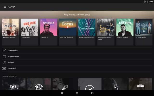 Le Migliori App per Ascoltare Musica Preferita su Androide iOS