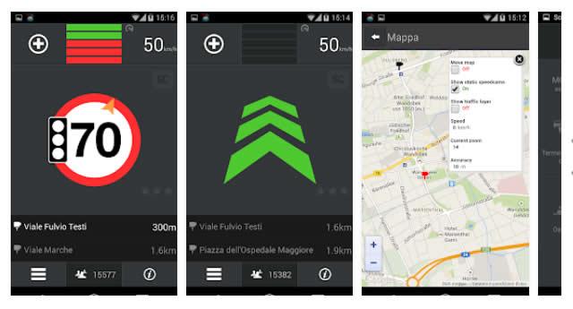 Le migliori App Android per rilevare autovelox
