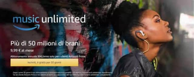 Amazon Music Unlimited cos'è e come funziona
