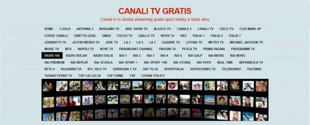 Migliori siti per guardare TV in streaming gratis
