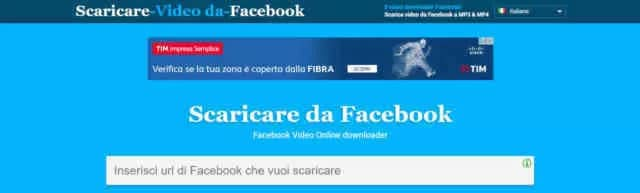 Scaricare Video da Facebook PC