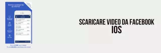 Scaricare video su Facebook da iOS