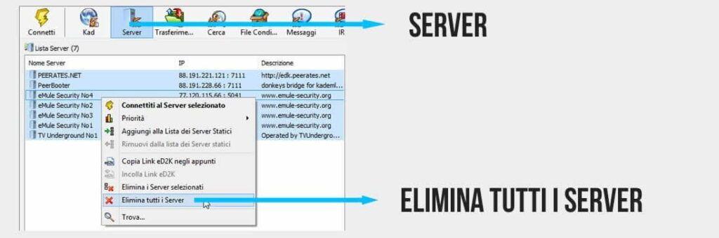 Lista Server Emule Aggiornata