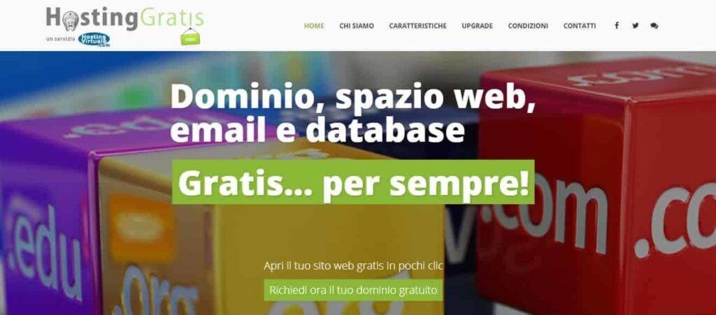 I migliori Servizi di Hosting Gratuiti Italiani