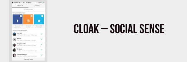 Cloak - Social Sense