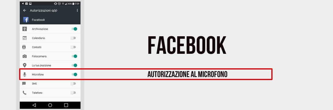 E se Facebook ci Spiasse Attraverso lo Smartphone?