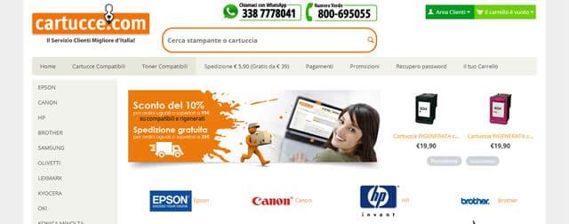 I Migliori Negozi Online di Cartucce e Toner Compatibili