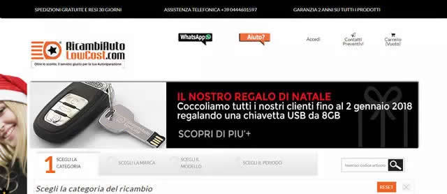 Ricambi Auto Low Cost