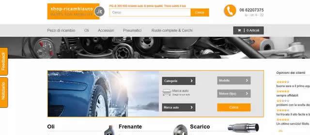 I Migliori Siti Ricambi Auto Online