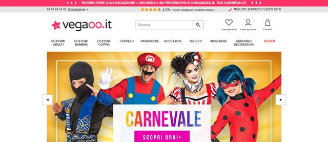 I Migliori Siti per Costumi di Carnevale