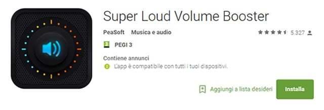 App per Aumentare Volume su Android