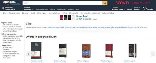 Acquistare Libri ed Ebook Online