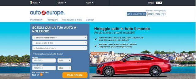 Siti Noleggio Auto Low Cost