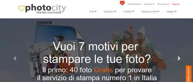PhotoCity stampa Foto Online