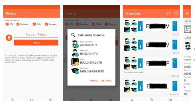 Verificare Km Auto con un App