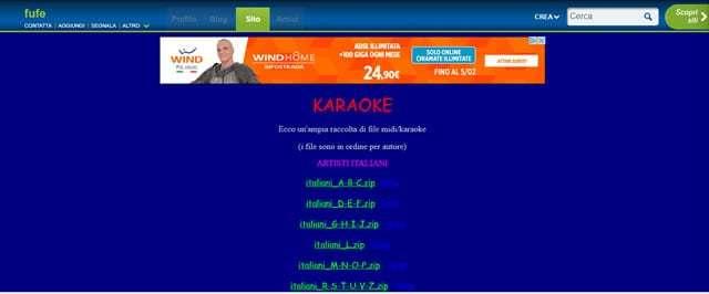 Siti per Scaricare Basi Karaoke Gratis