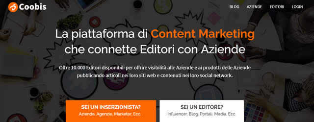 Coobis la piattaforma numero uno del content marketing