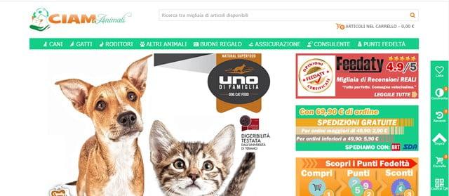 I Migliori Negozio Online per Animali