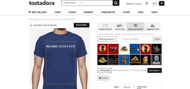 Creare Magliette personalizzate con Tostadora