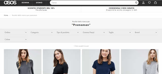 vestiti Premaman Online