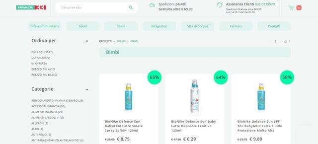 Farmacia 33 solari online