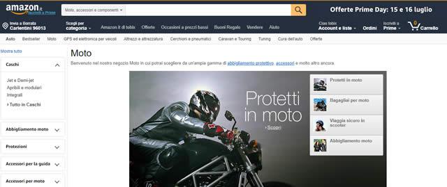 Amazon Accessori Moto
