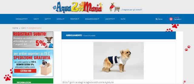 I Migliori Siti per Abbigliamento Cani