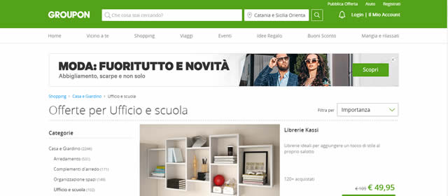 Groupon Sconti e Coupon