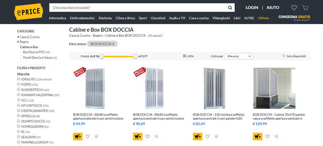 I Migliori Siti per Acquistare Box Doccia