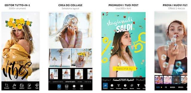 Le Migliori App per Creare Foto Collage