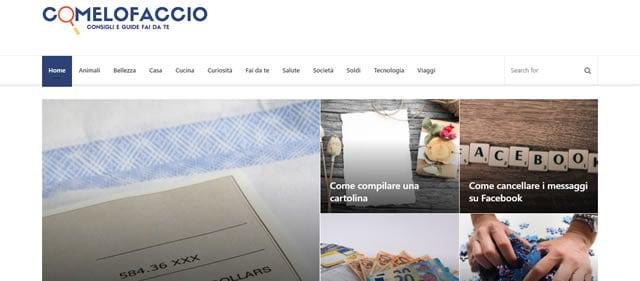 ComeLoFaccio.it: il Sito Dedicato alle Guide e al Fai da Te