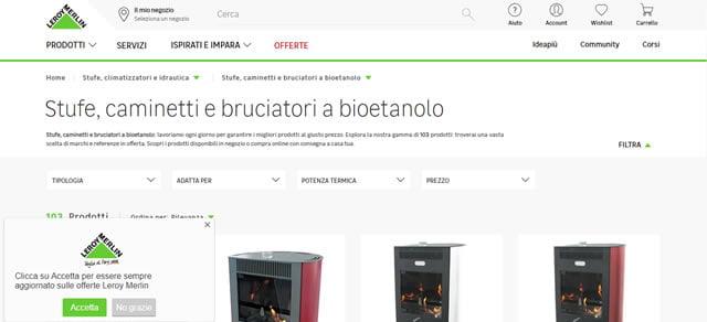 I Miglior Siti per Acquistare Stufe e Camini a Bioetanolo