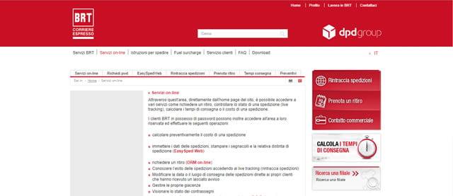 Bartolini Servizi Online