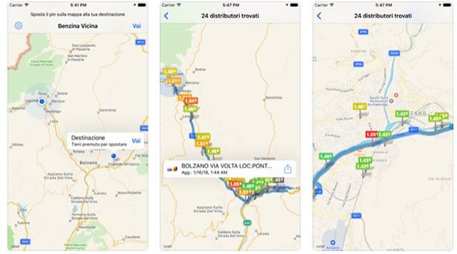 Le Migliori App per Distributori di Benzina, Diesel, Metano e GPL Economici