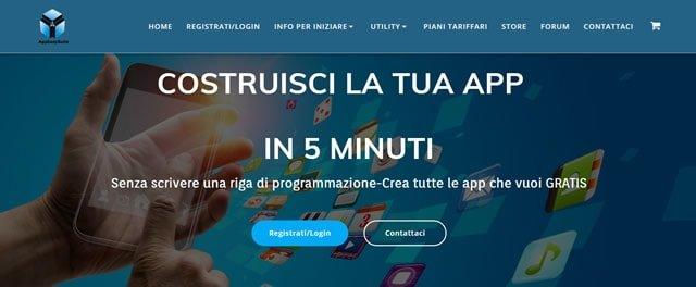 Easyapp build crea app gratis