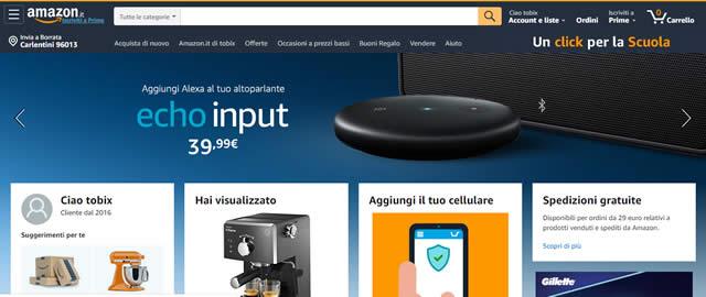 Amazon Home Page borse da lavoro