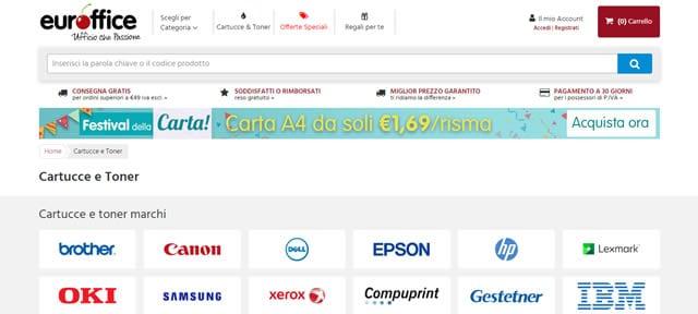 Euroffice Toner e Cartucce Compatibili