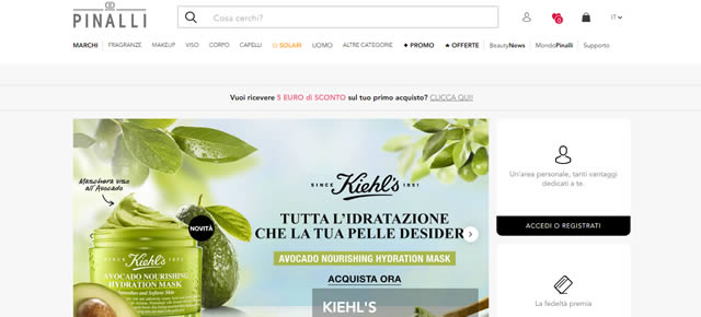 Pinalli salute e bellezza online