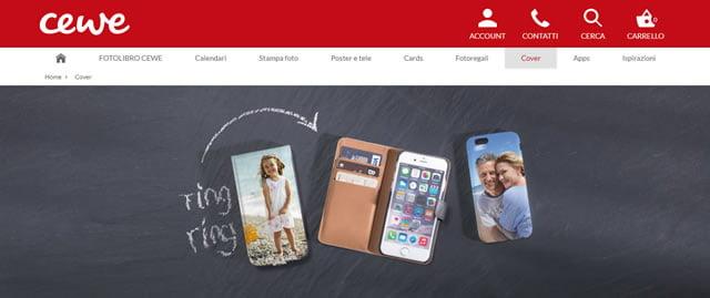 CEWE cover personalizzati