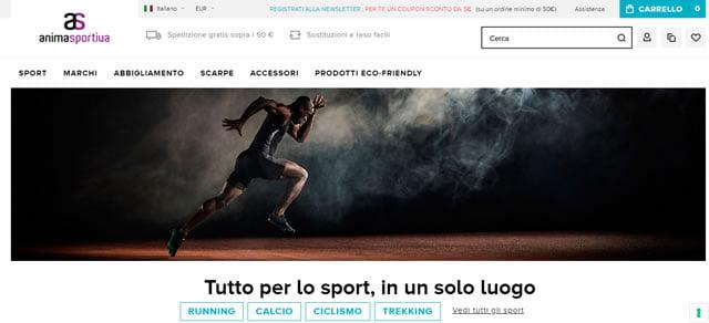 Anima Sportiva abbigliamento e accessori per lo sport