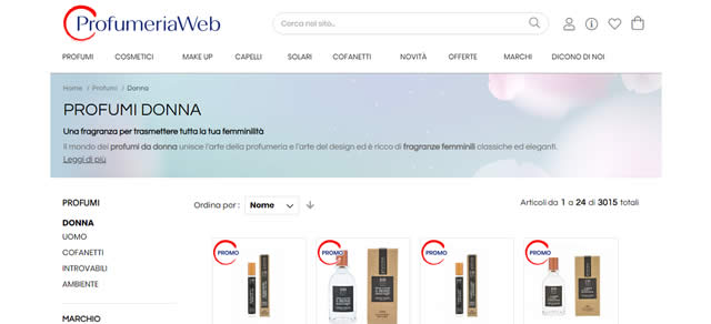 profumeriaweb profumi online