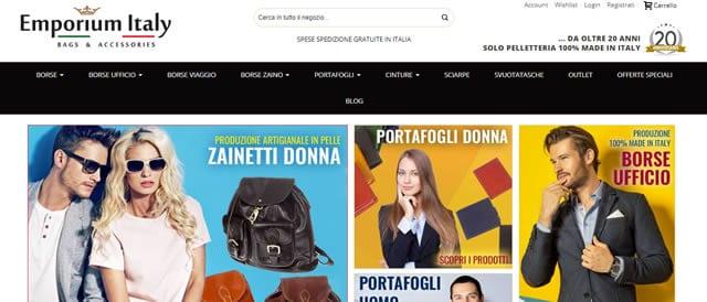 Emporium Italy cinture uomo e donna