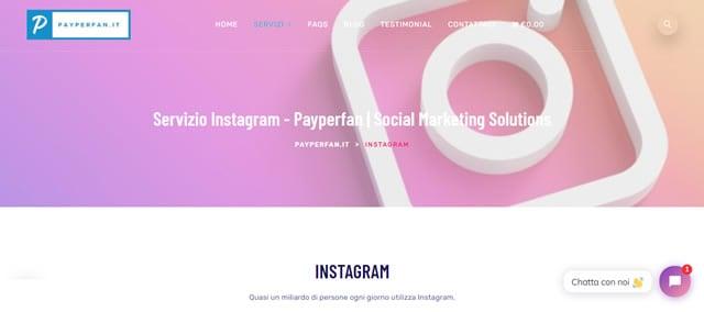 PayperFan followers instagram