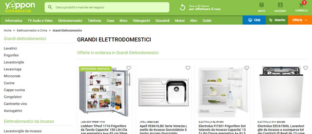 Yeppon elettrodomestici