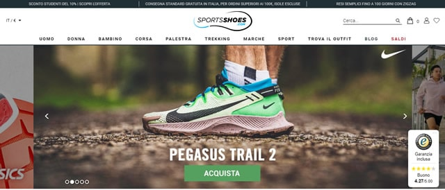 SportShoes sneakers uomo e donna