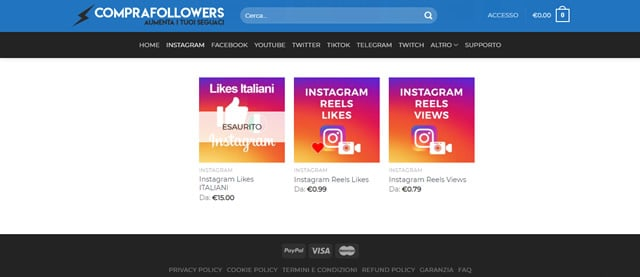 comprafollowers Instagram Reels