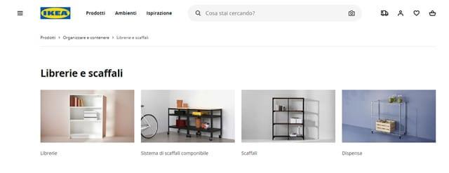 Ikea Scaffali
