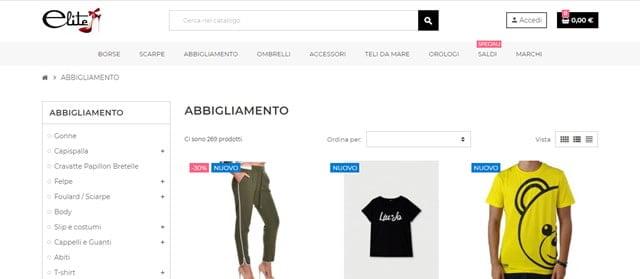 Elite Shop abbigliamento e calzature