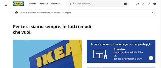 Ikea arredamento online