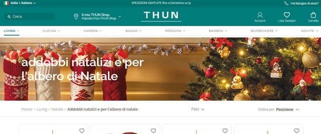 Thun addobbi natale